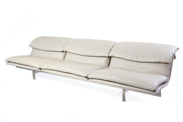 Saporiti Sofa | red modern furniture