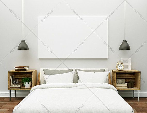 Poster Frame Photography Style Bedroom Wall By Positvtplus
