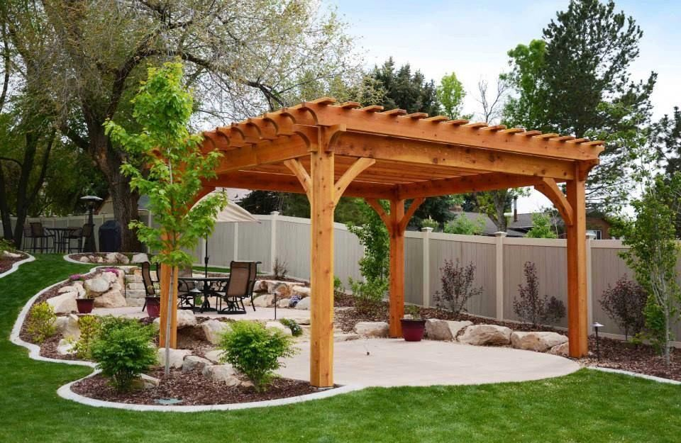 Timber frame ShadeScape™ DIY pergola kit assembled in as little as one  afternoon! Easy - Timber Frame ShadeScape™ DIY Pergola Kit Assembled In As Little As