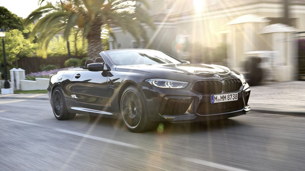 2020 Bmw M8 Convertible Is The Top Down Top Dog Bmw Convertible New Bmw