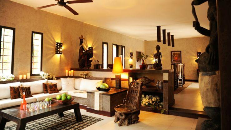 Décoration intérieur africaine villa de vacances exotique au sénégal vivons maison