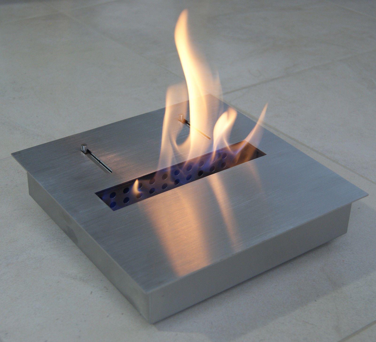 Bio Ethanol Or Gel Fuel Fireplace Firebox Insert Burner