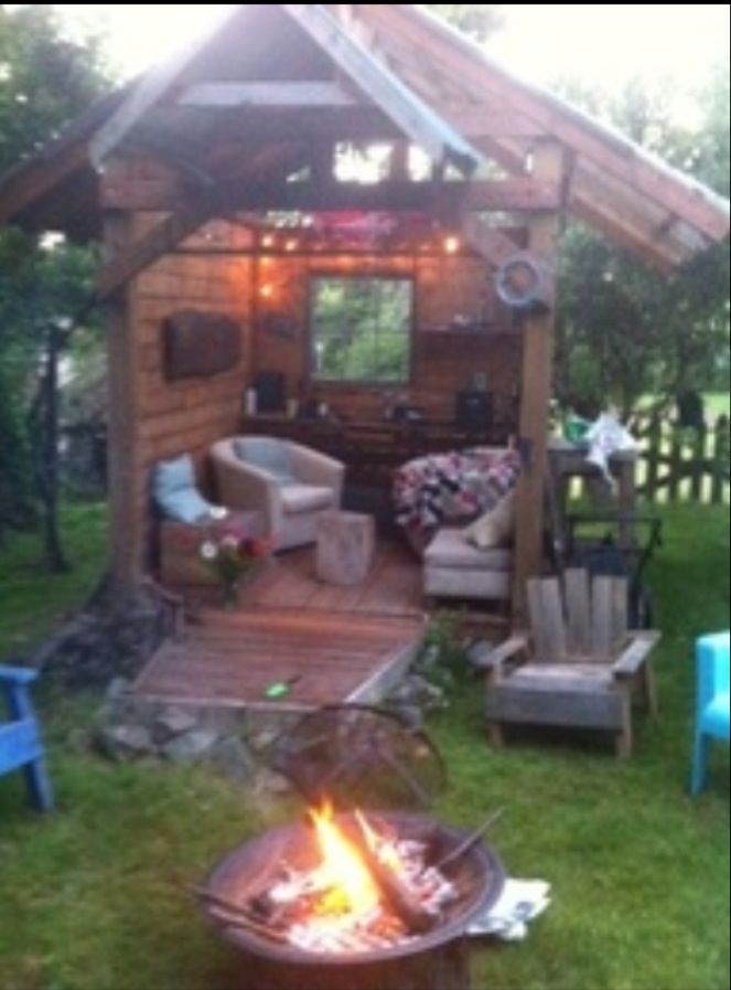 Backyard Retreats Ideas : Backyard retreat  Outside Ideas  Pinterest
