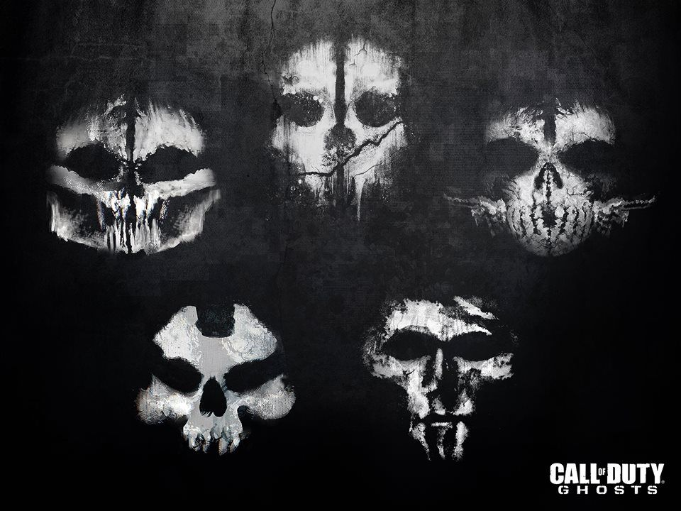 Cod Ghosts Masks Call Of Duty Ghosts Call Of Duty Call Of Duty
