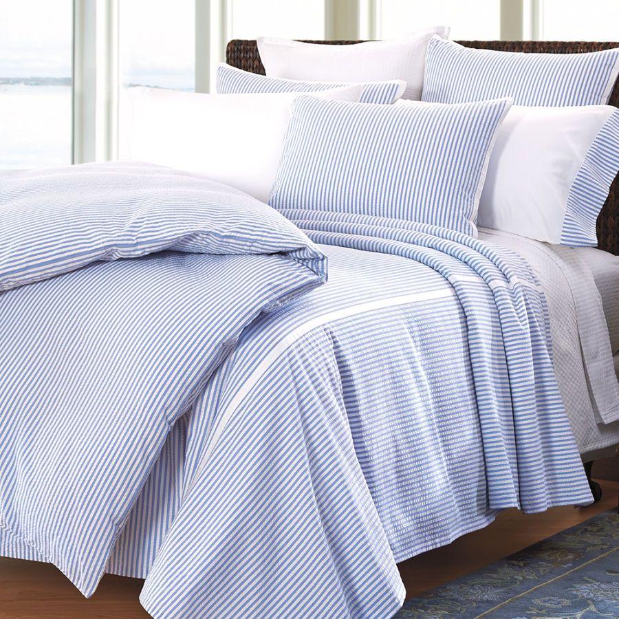 seersucker textured amazon squares home ruched duvet miller com nicole dusty queen kitchen set cotton cover full dp blue
