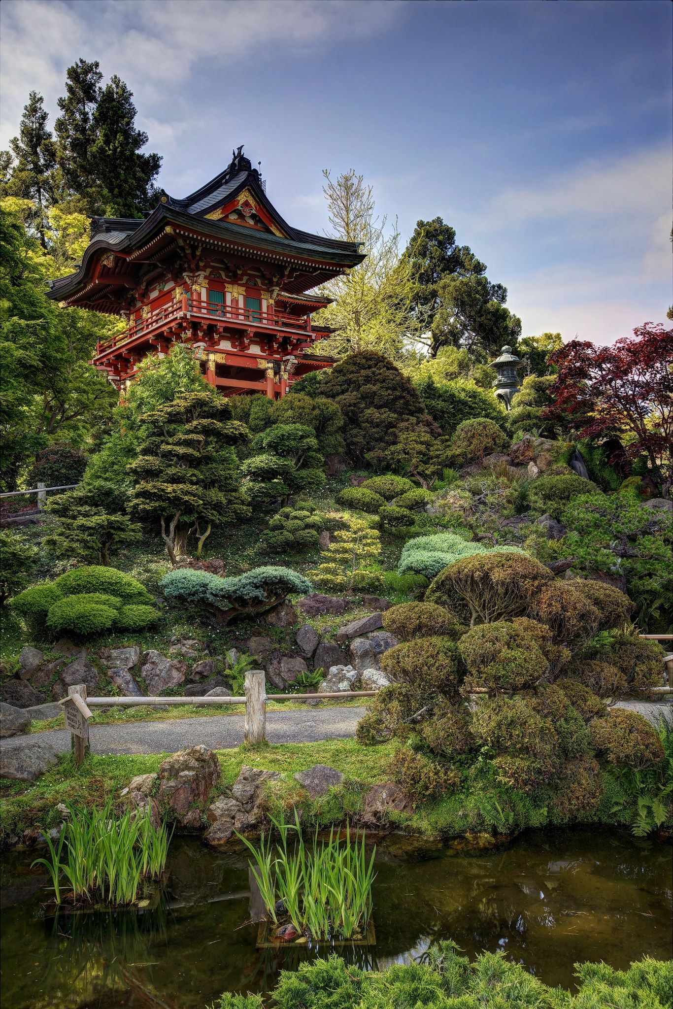 Japanese Tea Garden Japanese garden, Tea garden