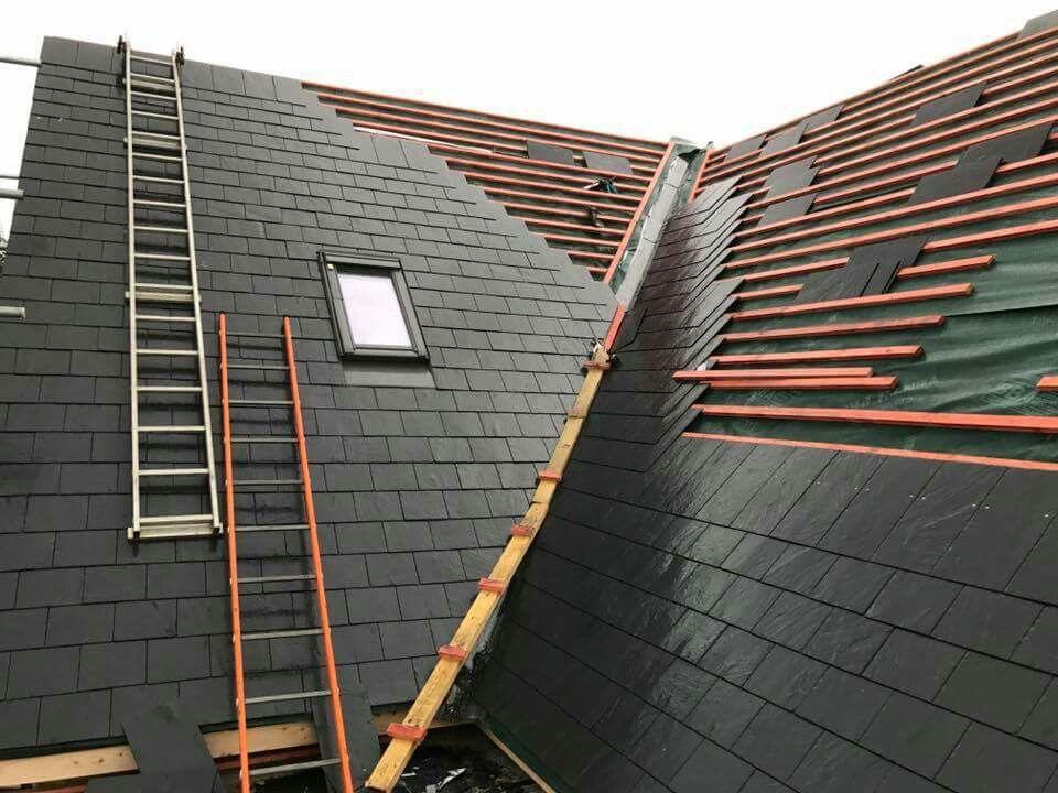 Re Slating Slate Roof Roofer Roof Design
