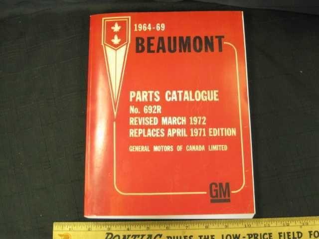 pontiac parts manual