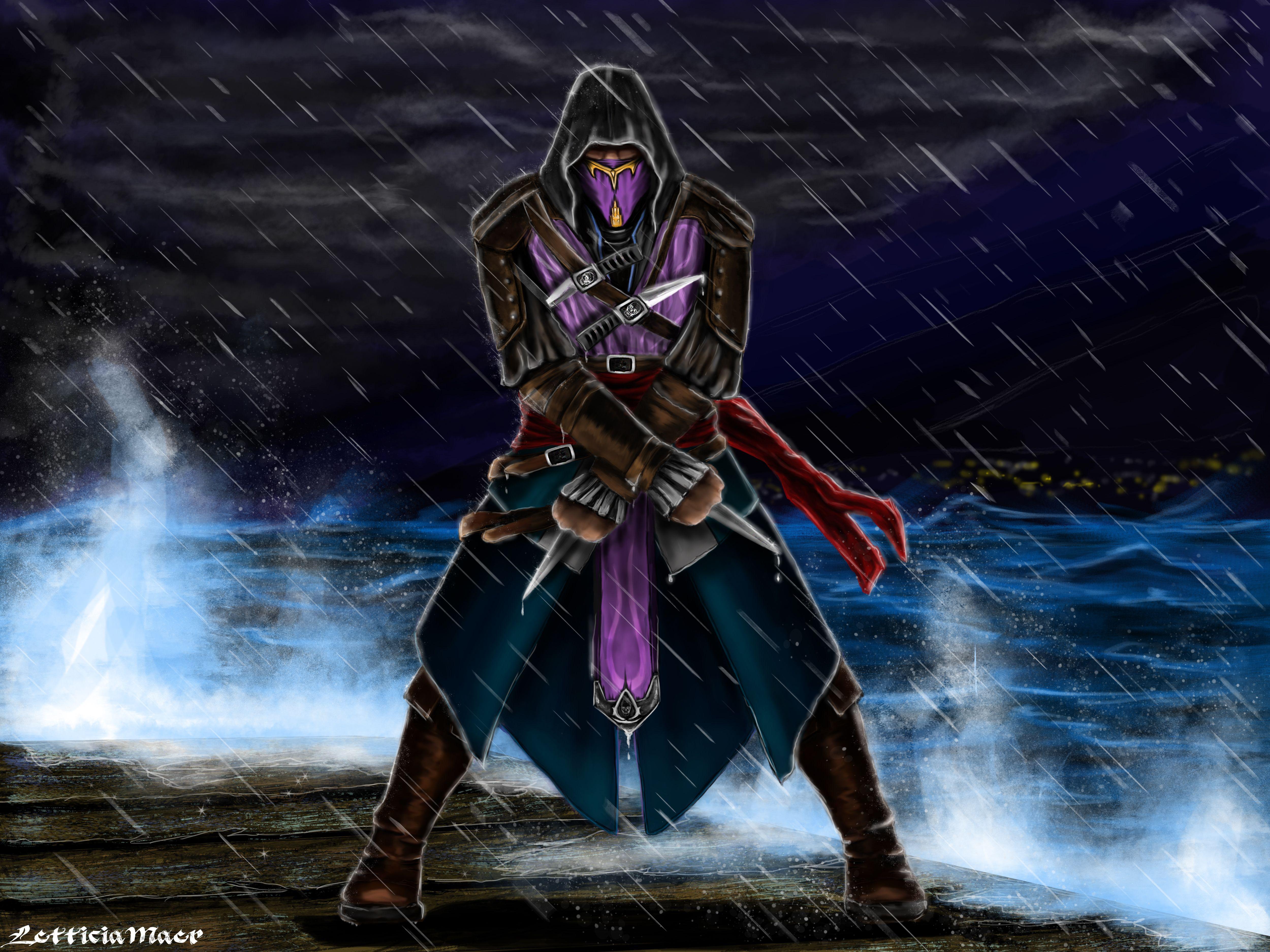 Assassin Rain by LetticiaMaer.deviantart.com on ...