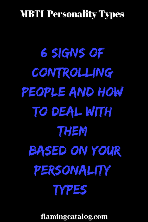 Dealing with controlling personality types