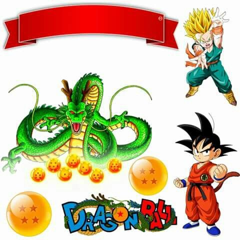 Dragon Ball Cake Topper
