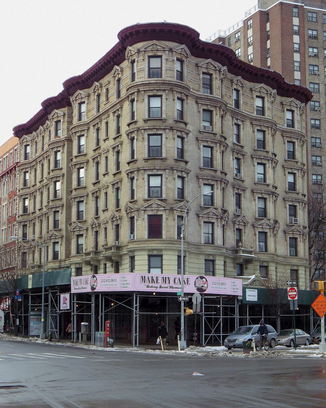 Wandering New York, An apartment house in Harlem. | New ...