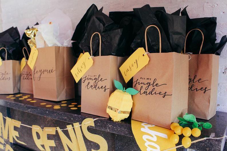 Bachelorette gift bags bachelorette party bags beyonce