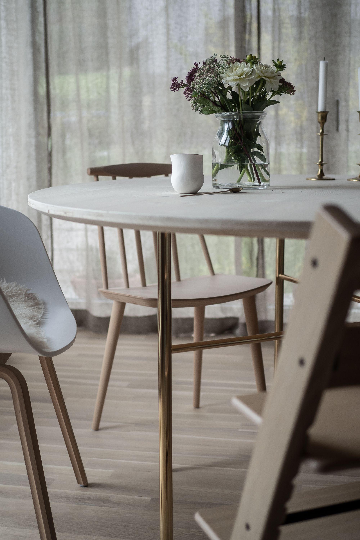 Unser Neuer Essbereich Mit Rundem Tisch In 2020 Runder Tisch