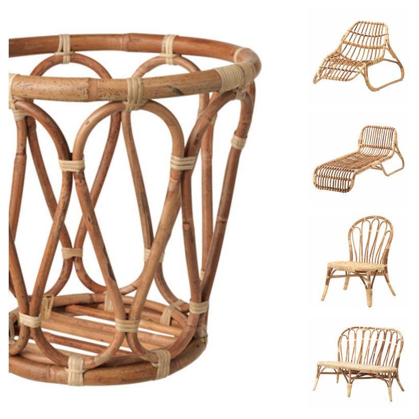 Ikea Jassa Bois Bambú