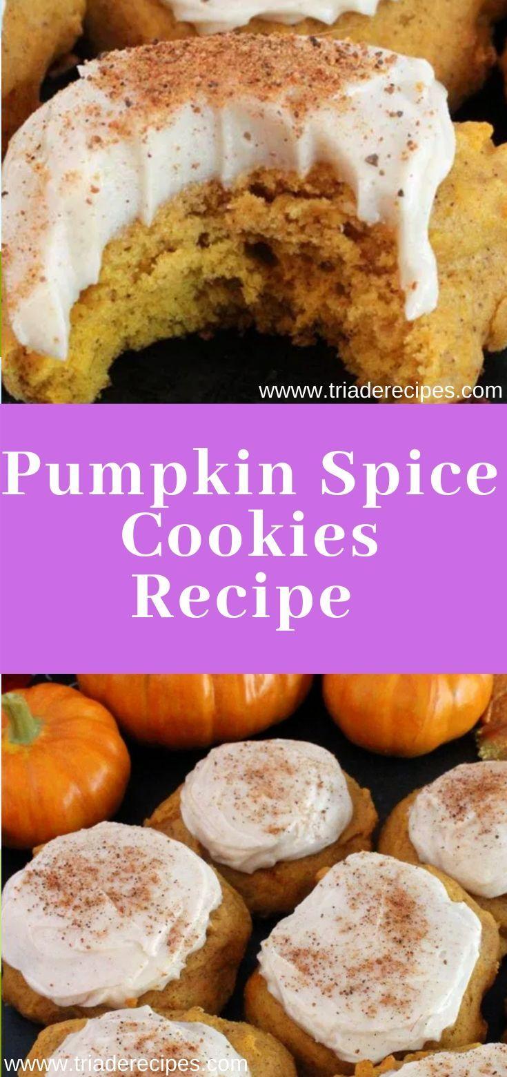 Pumpkin Spice Cookies Recipe Pumpkin Spice Cookies Recipe