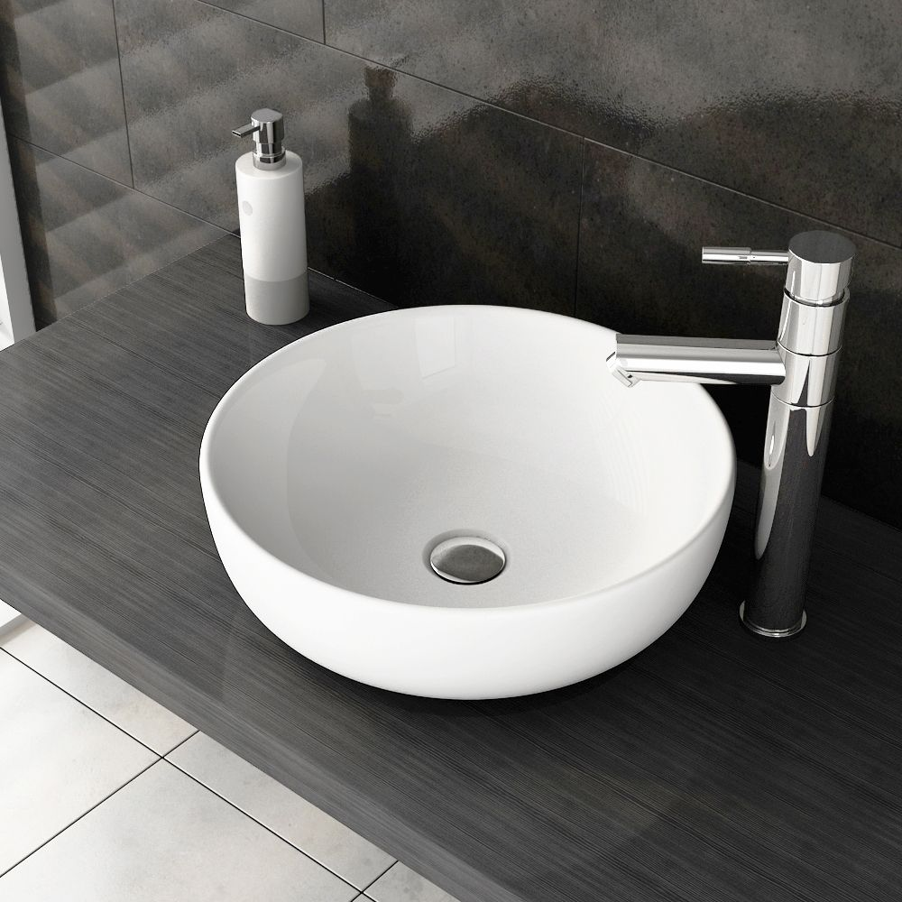 Swift High Rise Basin Mixer with Round Counter Top Basin in 2019