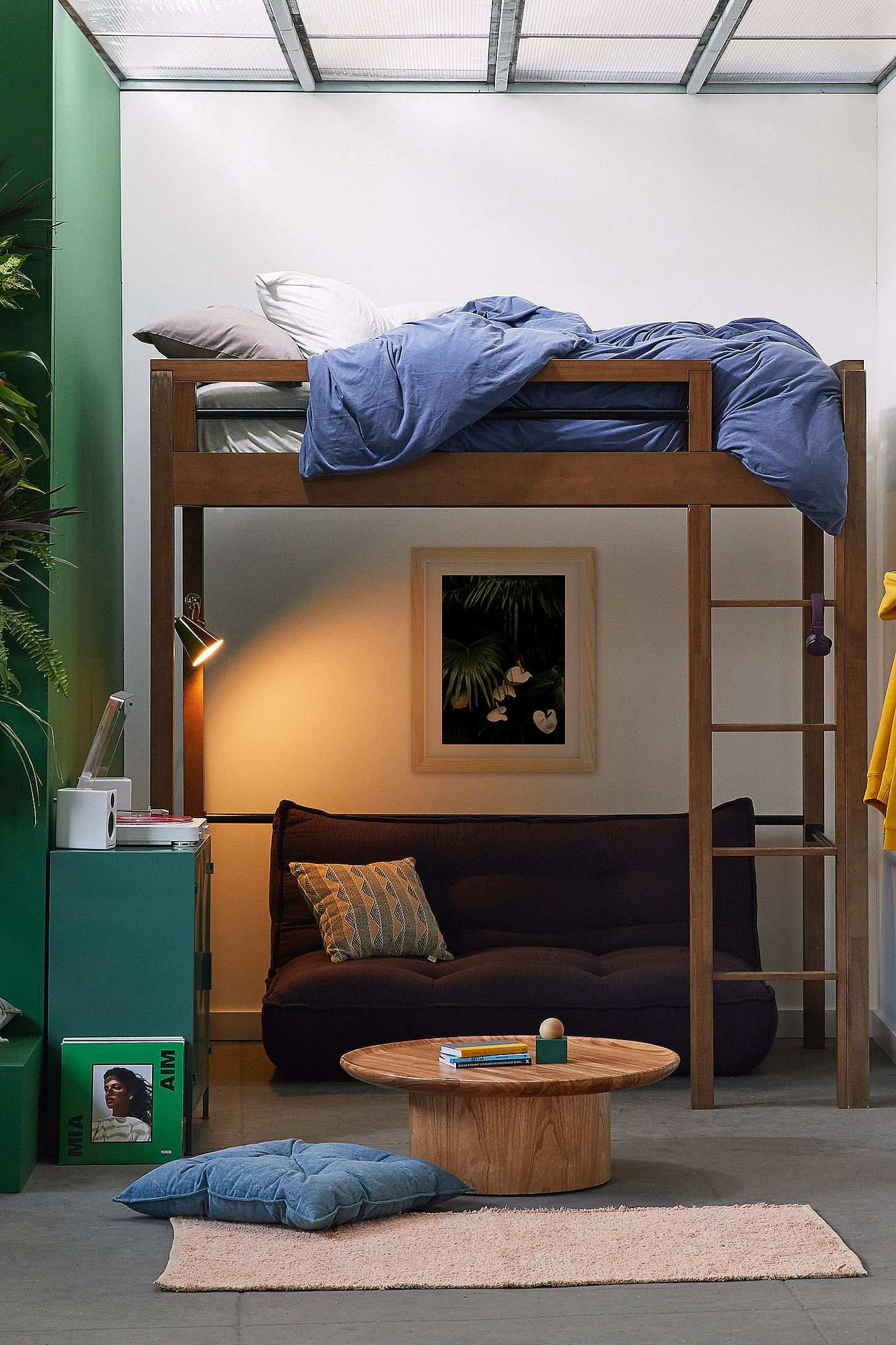 Slide for loft bed  Fulton Loft Bed  Fulton Lofts and Interiors