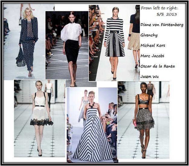 Catwalk black and White   #fashion #catwalk #blackandwhite