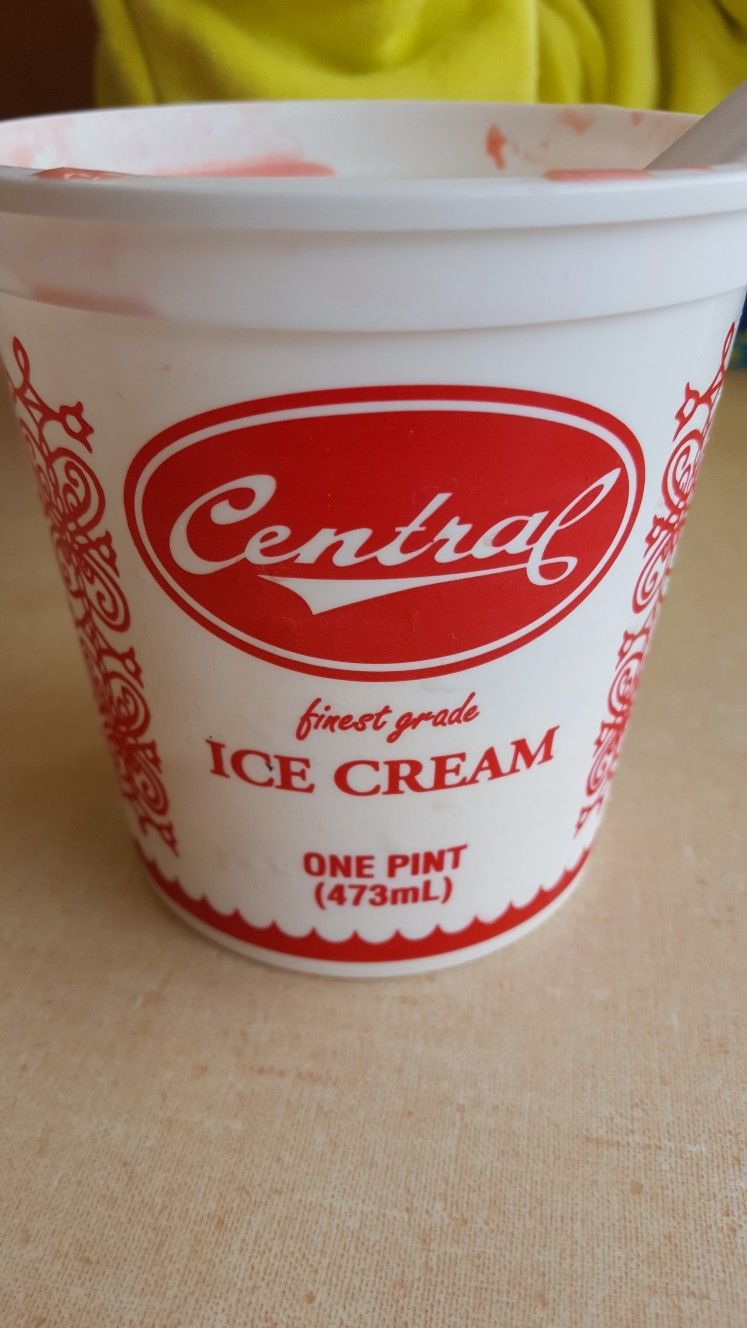 Central Dairy Is Very Famous In Jefferson City And Now I Know Why The Banana Ice Cream Is Delicious Banana Ice Cream Ice Cream Dunkin Donuts Coffee Cup