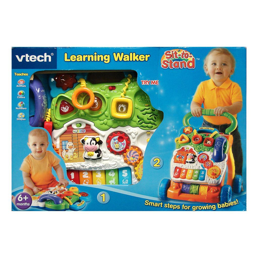 VTech Sit-to-Stand Learning Walker - kids toys (Limited ...