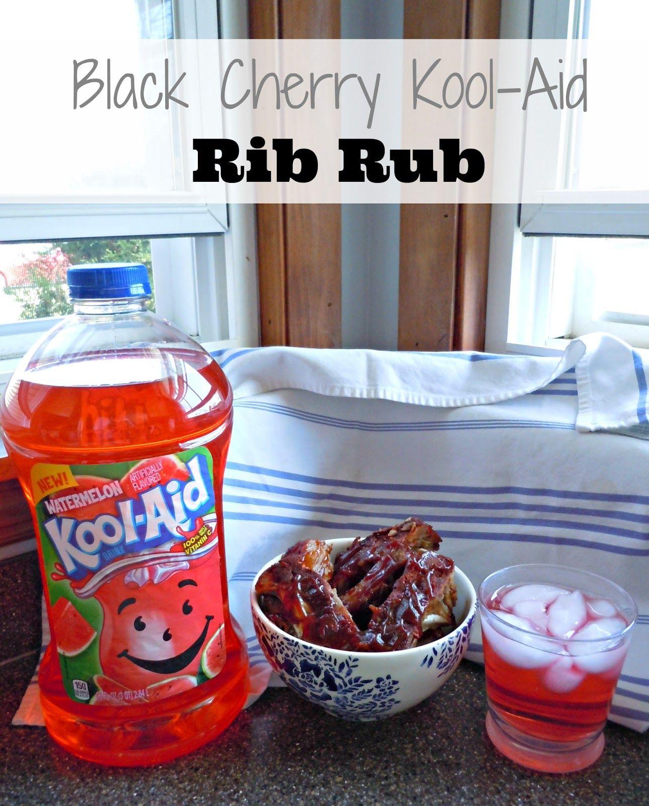 Secret Ingredient Rib Rub Black Cherry Kool Aid Mix Kooloff Shop Kool Aid Rib Rub Rub Recipes