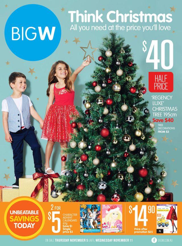 Big W Australia Catalogue 5 11 November 2015 Catalogues Weekly Specials 2015 Australia S Leadi Big W Christmas Tree Big Christmas Tree Christmas Catalogs