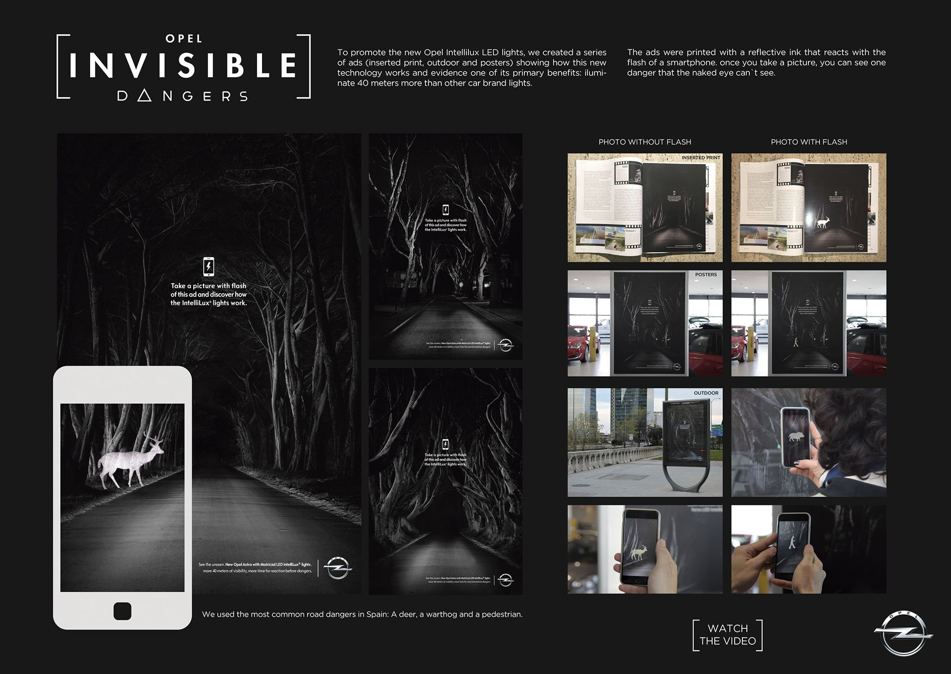Opel Invisible Dangers On Behance With Images Cannes Lions
