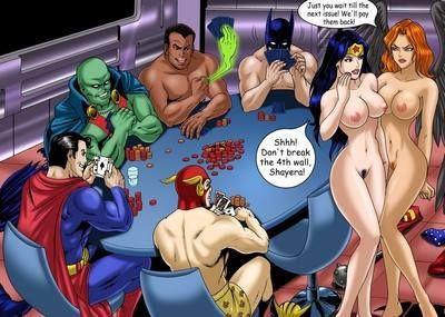 League nude justice hawkgirl