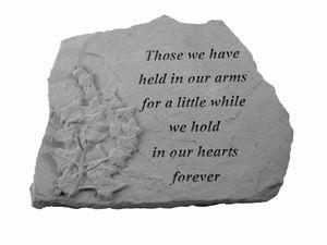 Memorial Stone In Our Hearts Forever Memorial Garden 400 x 300