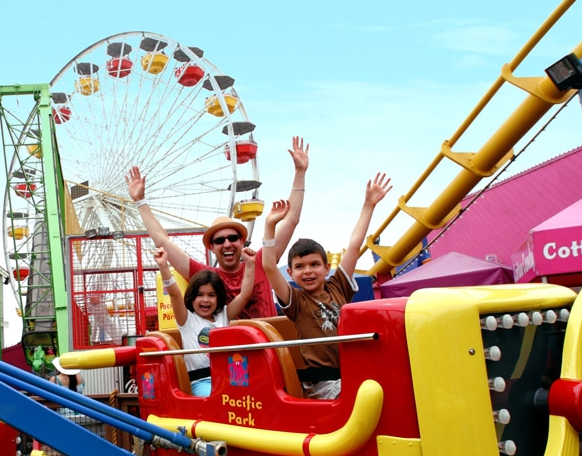 Santa Monica Pier's Amusement Park Package: Family Fun in Los Angeles