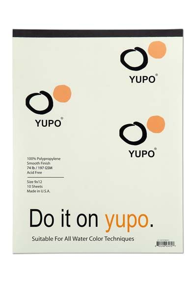 yupo - The world\'s first erasable watercolor paper! Great for ink too.
