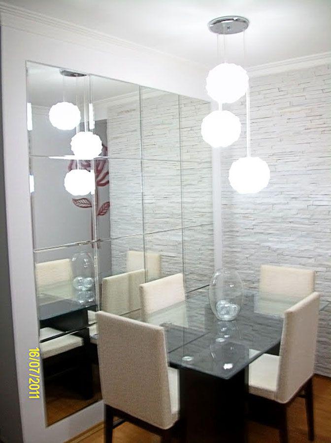 Wohnzimmer, Kleine Speisesäle, Esszimmer Ideen, Spiegelfliesen, Spiegel,  Küchenzeilen, Esszimmer, Kleine Wohnungen, Moderne Wohnungen