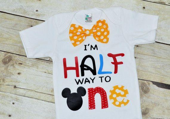 Its My Half Birthday Shirt 1 2 Bodysuit By RYLOwear