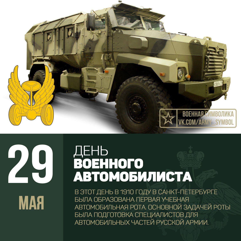 Картинки ко дню военного автомобилиста