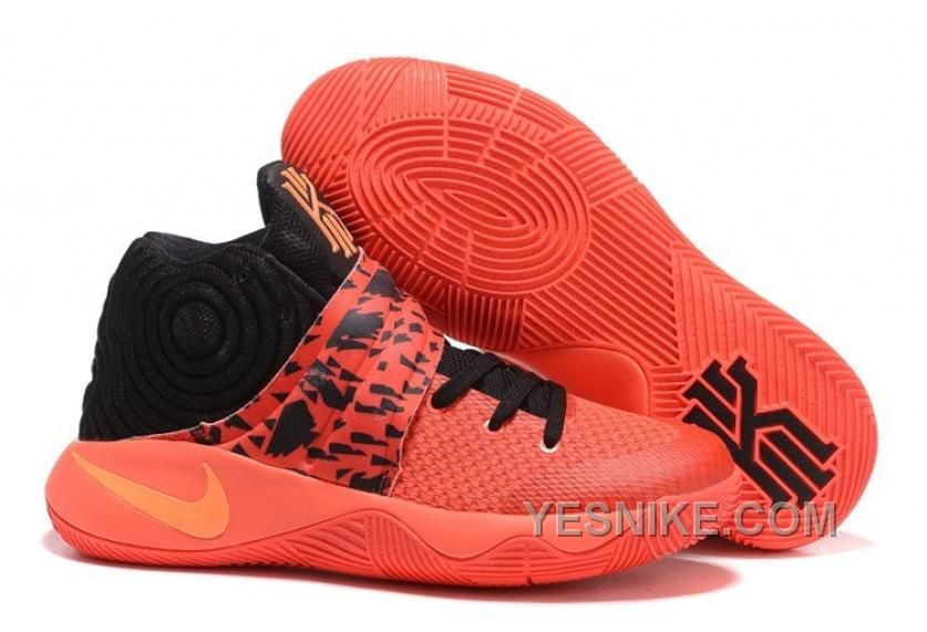 Big Discount  66 OFF Nike Kyrie 2 Bright Crimson Mens Basketball Shoes