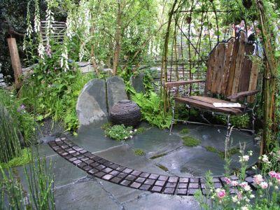 gartenideen auf kleinstem raum | garten diy | pinterest | gärten, Hause und Garten