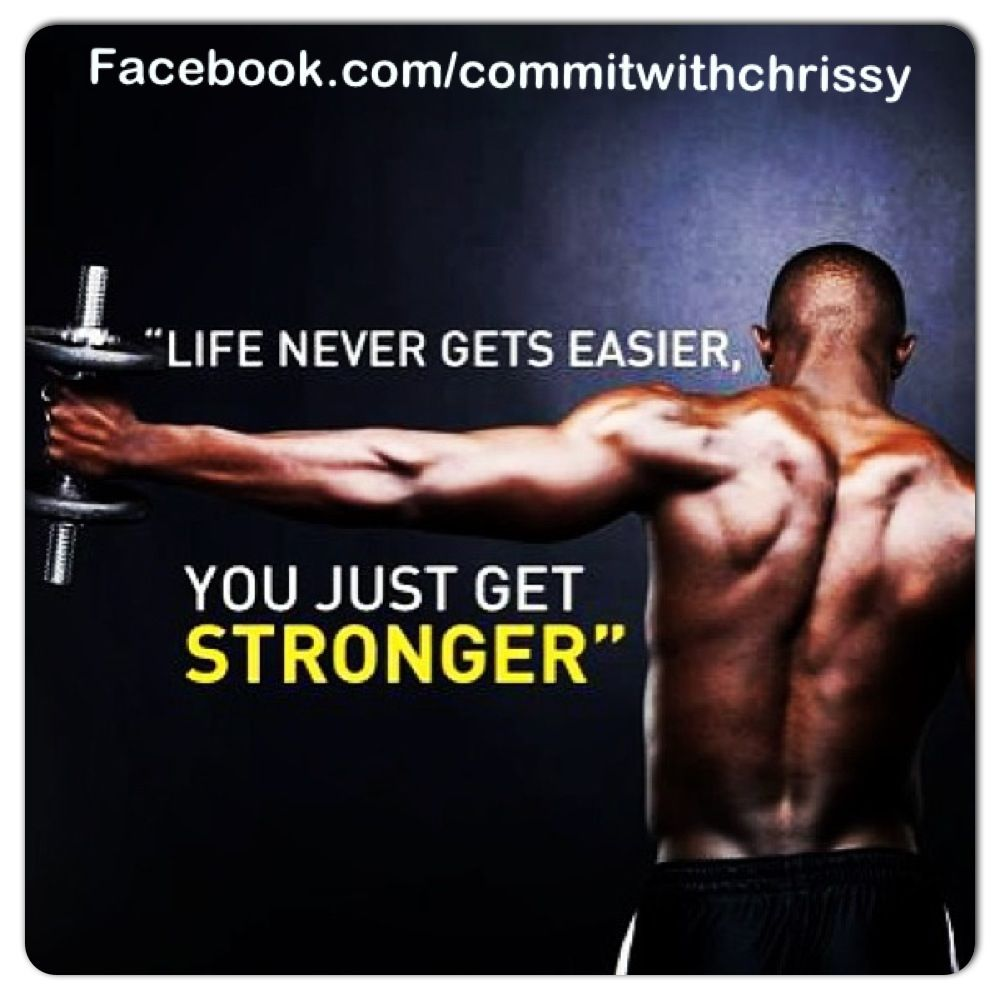 Stronger Facebook.com/commitwithchrissy Chrissy.wile@yahoo.com