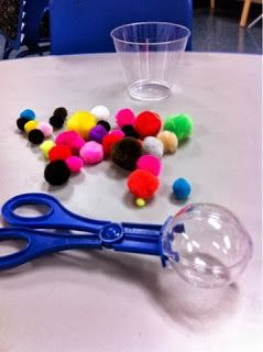 More Than ABC's and 123's: Fine motor fun Repinned by Apraxia Kids Learning. Come join us on Facebook at Apraxia Kids Learning Activities and Support- Parent Led Group.