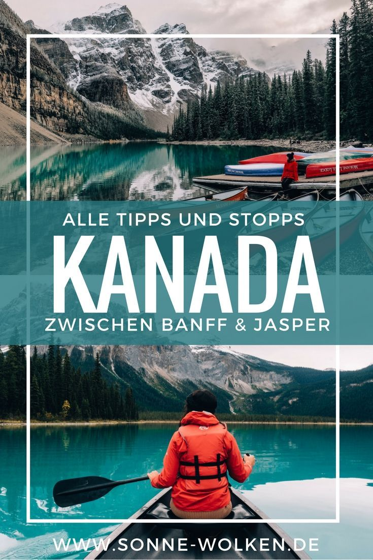 Highlights zwischen Banff & Jasper - Auf dem Icefield Parkway {Kanada} #aroundtheworldtrips