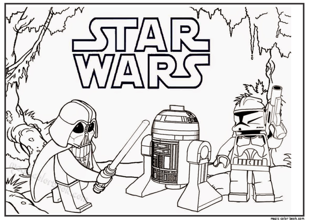 Star Wars Free Printable Coloring Pages 23 Lego Coloring Pages, Star Wars  Coloring Sheet, Star Wars Coloring Book