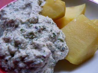 Veganmuddi: Kartoffeln mit Quark