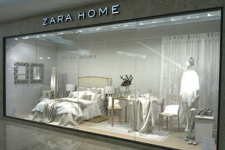 Store. Zara Home windows  Jakarta   Indonesia   Visual Merchandising