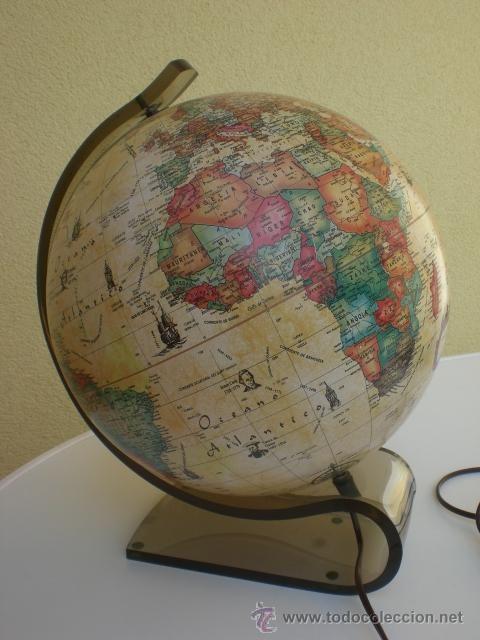 Preciosa bola del mundo globo terr queo mundo antiguo - Globo terraqueo decoracion ...