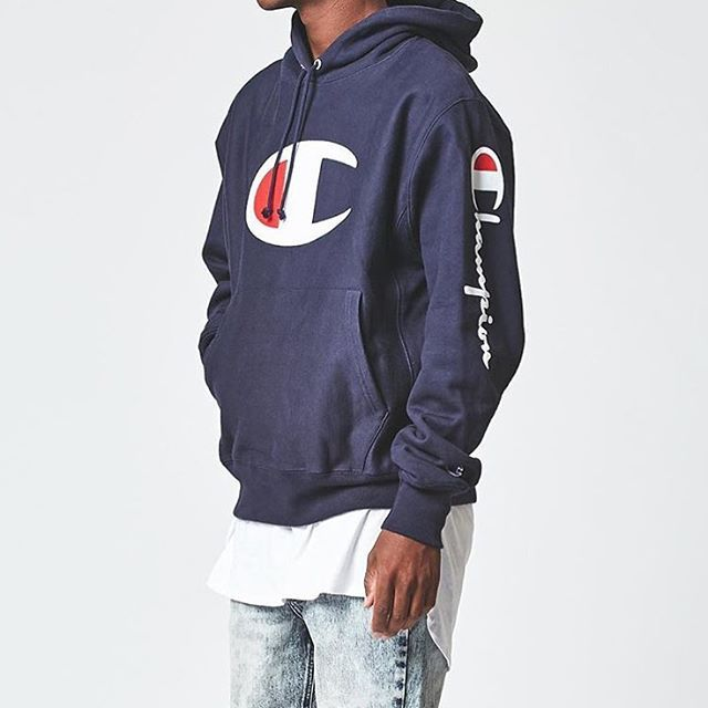 a78852e6 Repost @pacsun: Layer up. ✓ The #Champion Big C Pullover Hoodie ...