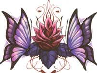 Love the lotus flower, but would lose the butterflies!