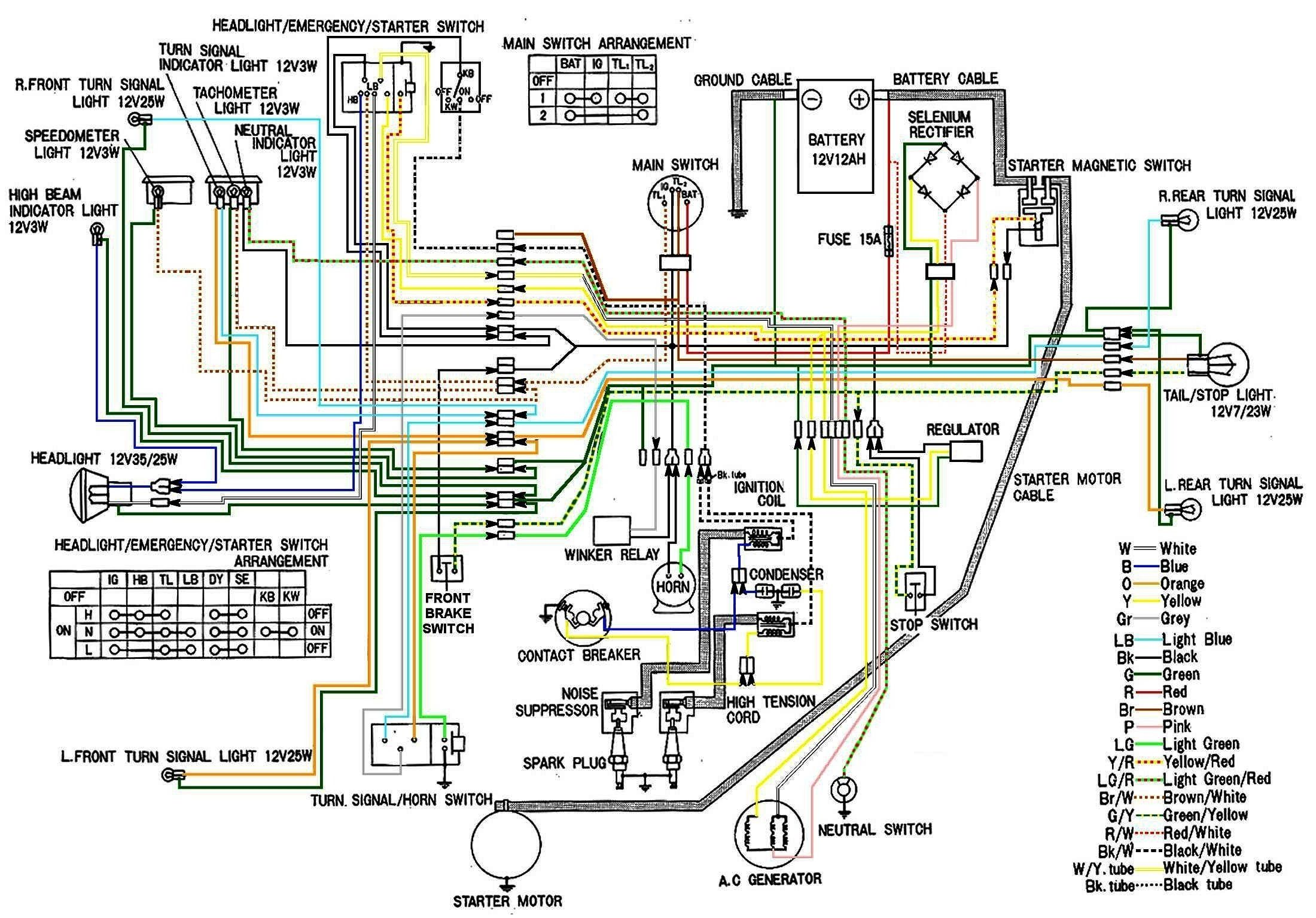 Cb360 Wiring Harness Diagram - Trailer Breakaway Battery Wiring Diagrams  for Wiring Diagram Schematics