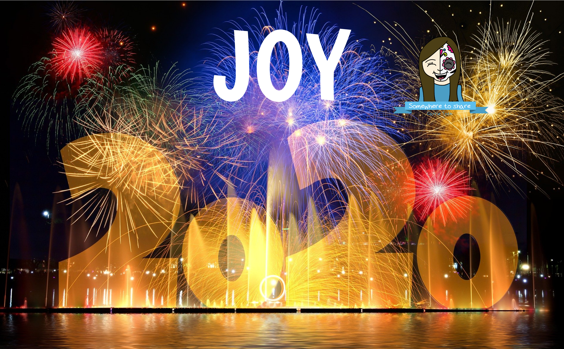 Letting Joy Rule the Climate New years eve fireworks
