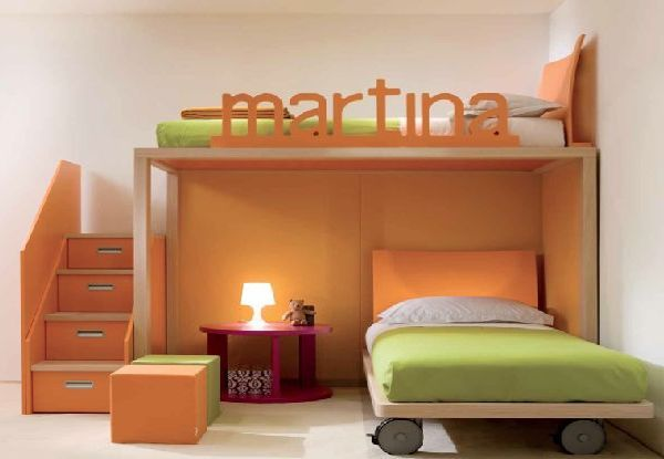 Personalized Bunk Beds With Images Kids Bedroom Decor Modern