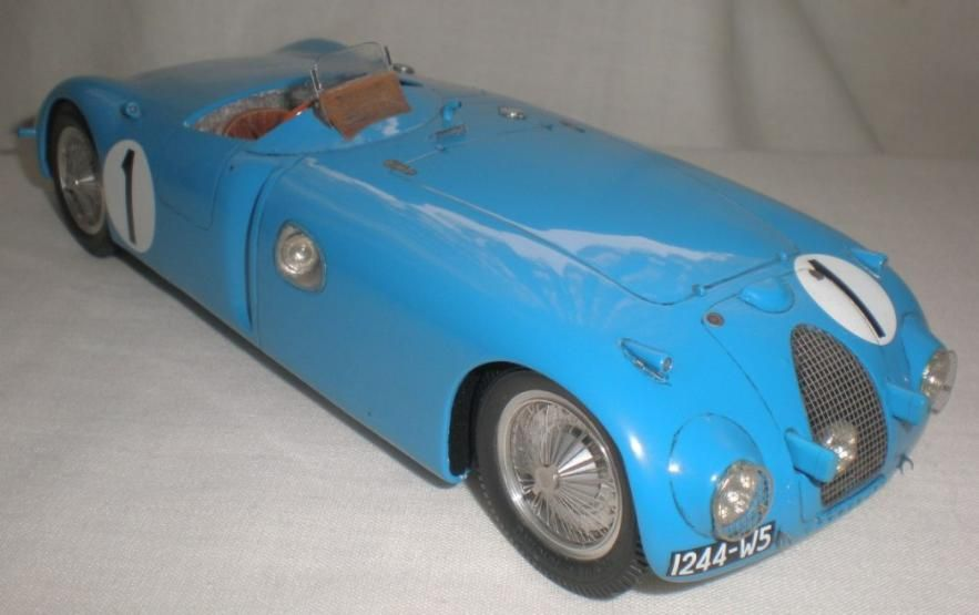 1939 Bugatti Type 57c Tank Model Having Won The 1936 French